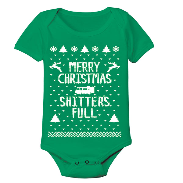 Merry Christmas Sh*Tters Full Baby Baby One Piece