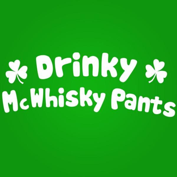 Drinky Whisky Pants - DonkeyTees