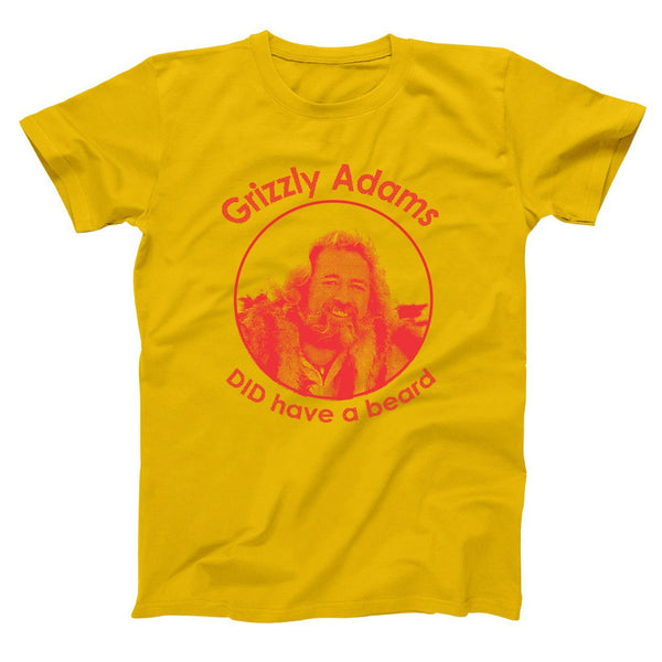 Grizzly Adams Did Have A Beard Men's T-Shirt