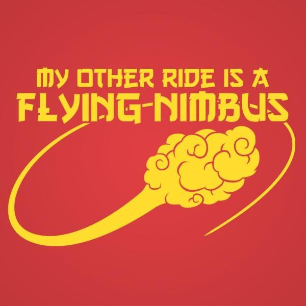 The Flying Nimbus - DonkeyTees
