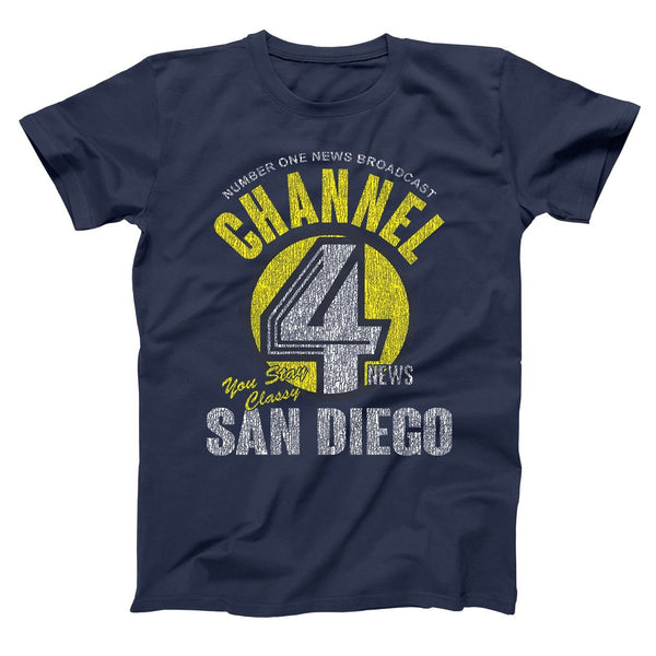 Channel 4 News Men's T-Shirt - Donkey Tees