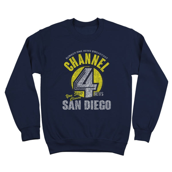 Channel 4 News Crewneck Sweatshirt