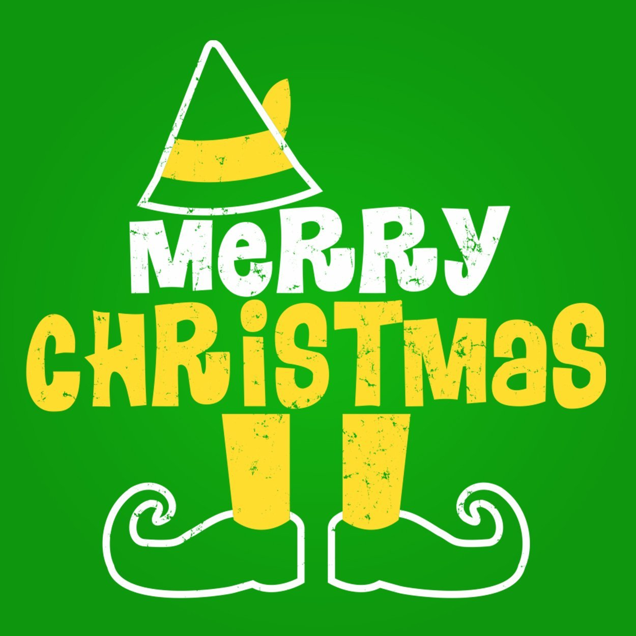 Elf Legs Merry Christmas - DonkeyTees