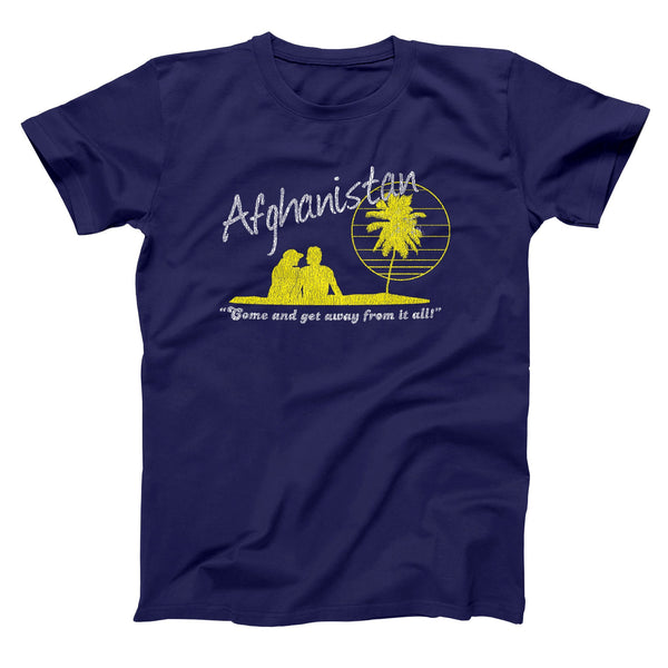 Afghanistan Vacation Men's T-Shirt - DonkeyTees