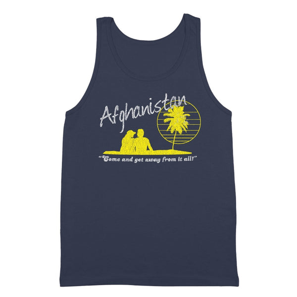 Afghanistan Vacation Tank Top - DonkeyTees