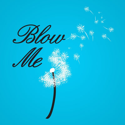 Blow Me Flower - DonkeyTees