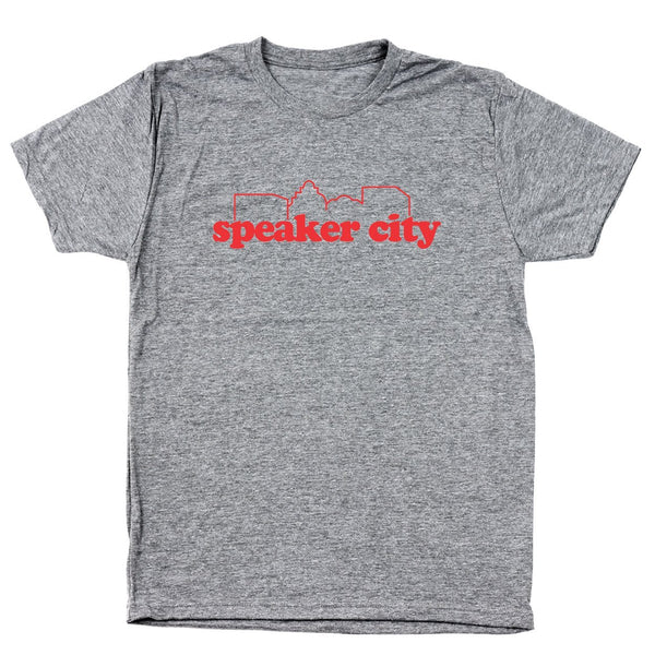 Speaker City Men's Tri-Blend T-Shirt