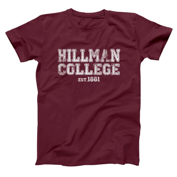 Hillman College Est 1881 Men's T-Shirt - Donkey Tees