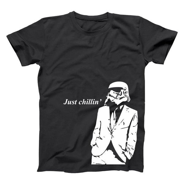 Just Chillin Stormtrooper Men's T-Shirt - Donkey Tees