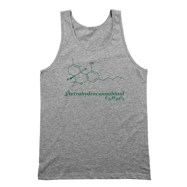 Tetra Cannabis Tank Top - DonkeyTees