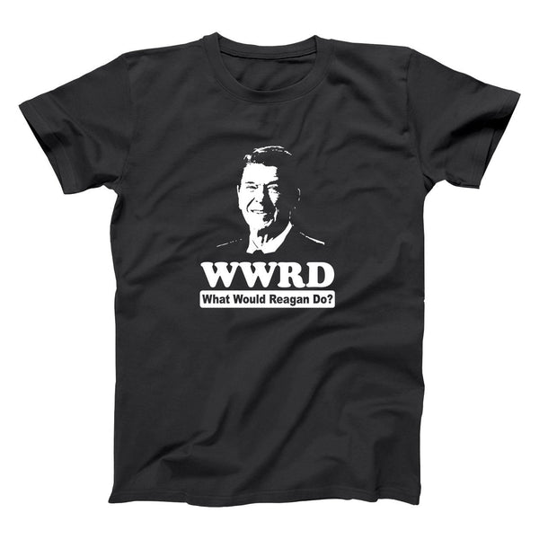 What Would Ronald Reagan Do Men's T-Shirt - Donkey Tees