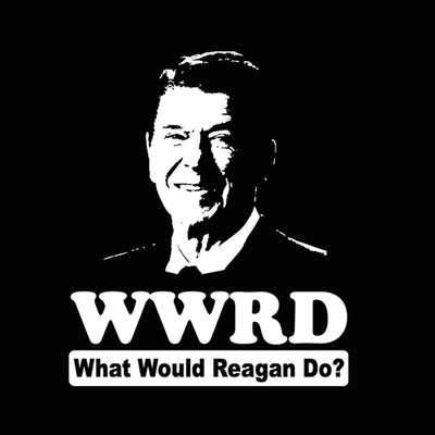 What Would Ronald Reagan Do - DonkeyTees