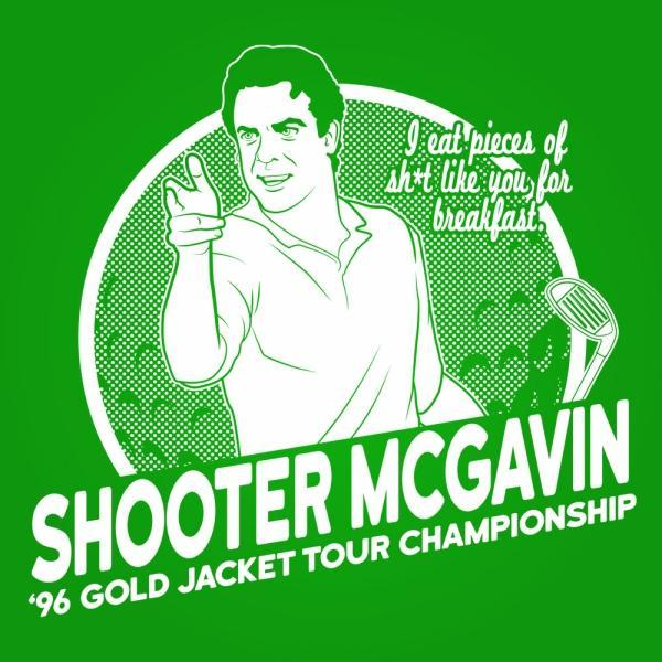 Shooter Mcgavin Golf Champ - DonkeyTees