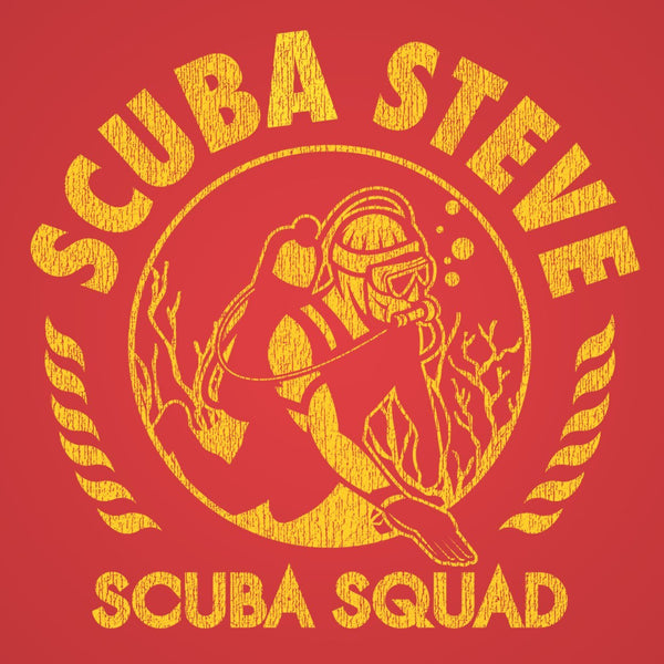 Scuba Steve Dive Squad Men's T-Shirt - DonkeyTees