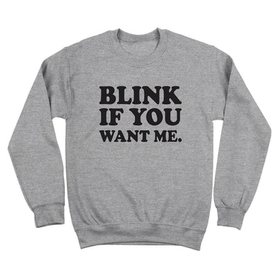 Blink If You Want Me - DonkeyTees