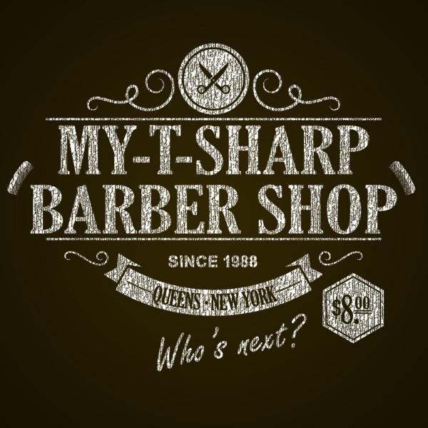 My T Sharp Barber Shop - DonkeyTees