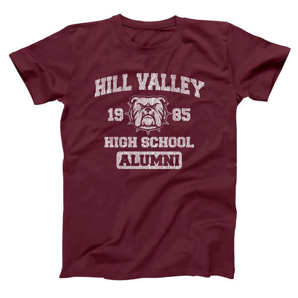 Hill Valley 1985 Alumni Men's T-Shirt - Donkey Tees