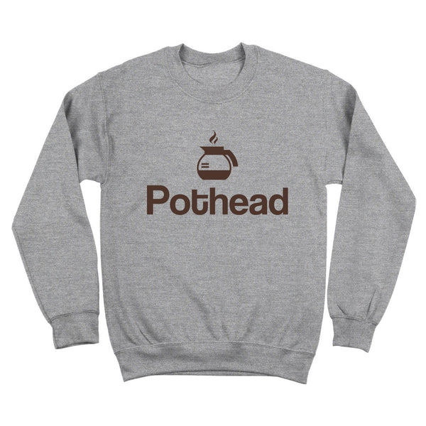Pot Head Coffee Crewneck Sweatshirt