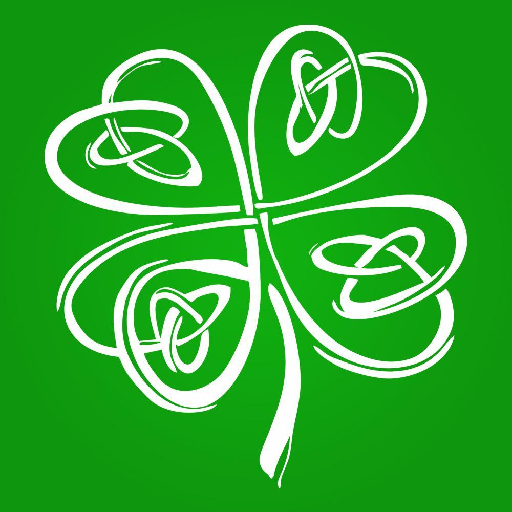 Irish Shamrock Clover - DonkeyTees