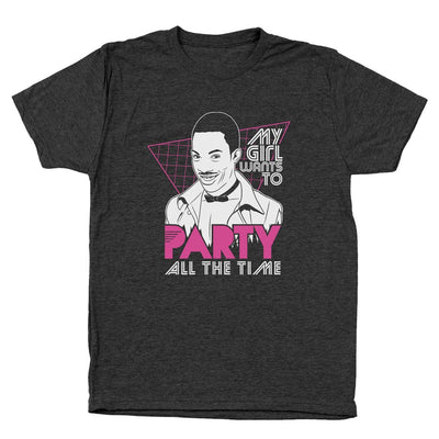 My Girl Wants To Party All The Time - DonkeyTees