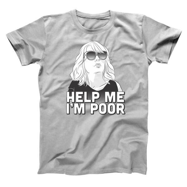 Help Me I'm Poor Men's T-Shirt - Donkey Tees