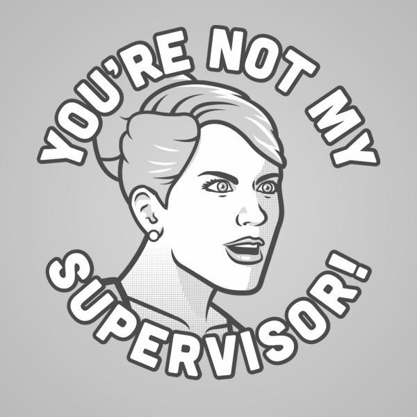 You're Not My Supervisor - DonkeyTees