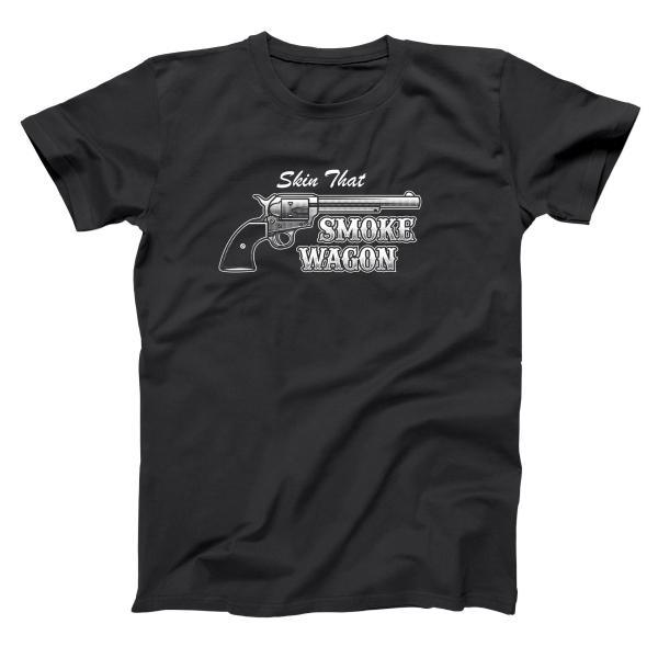 Skin That Smoke Wagon Men's T-Shirt
