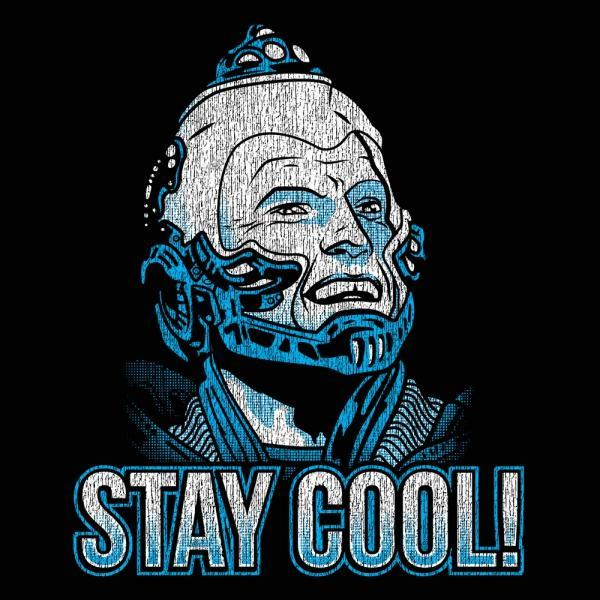 Stay Cool Mr Freeze - DonkeyTees