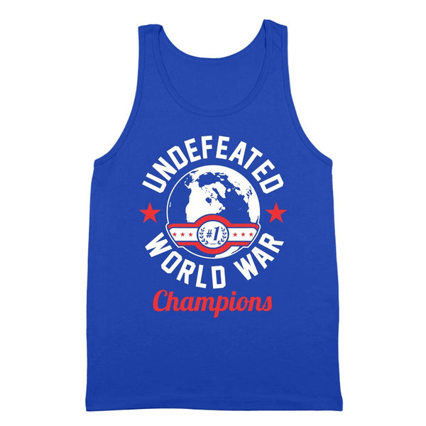 Undefeated World War Champions Tank Top - Donkey Tees