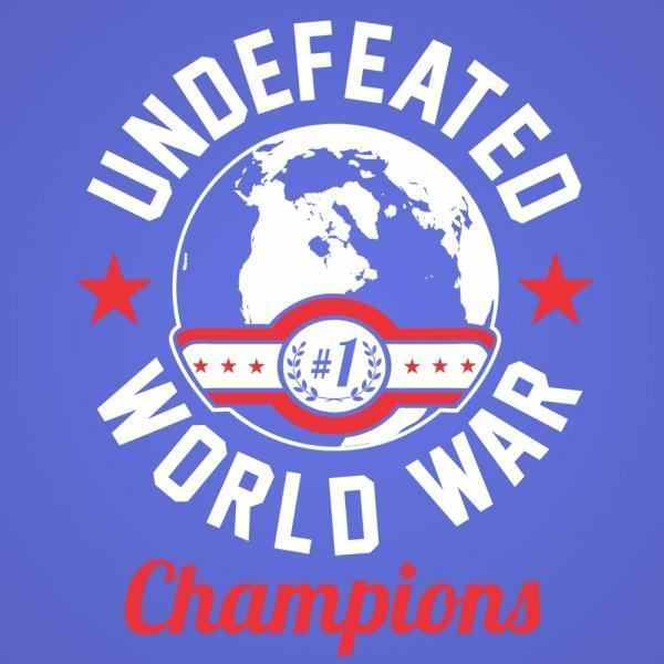 Undefeated World War Champions - DonkeyTees