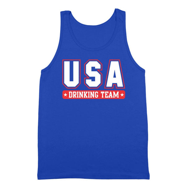 Usa Drinking Team Tank Top - Donkey Tees