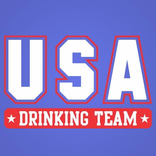 Usa Drinking Team - DonkeyTees