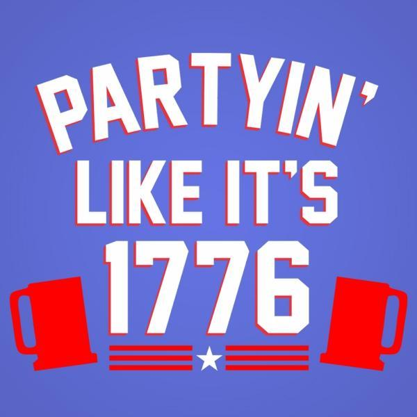 Partying Like Its 1776 - DonkeyTees