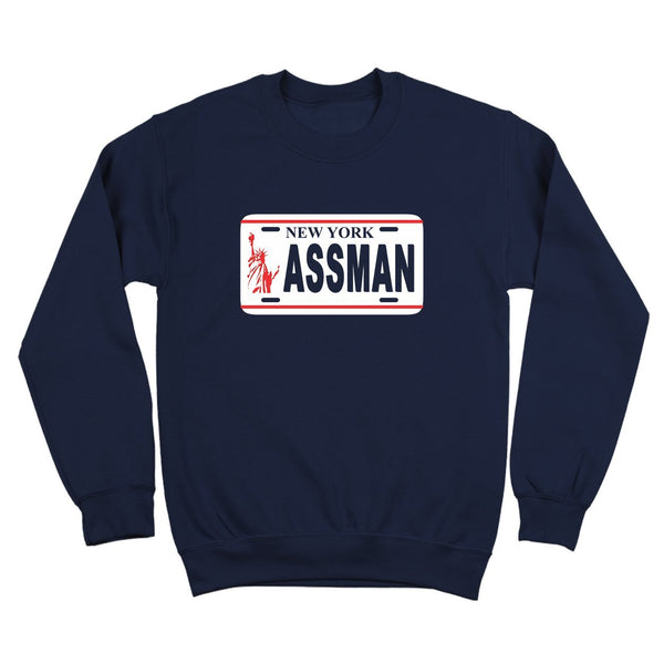 The Assman Crewneck Sweatshirt - DonkeyTees