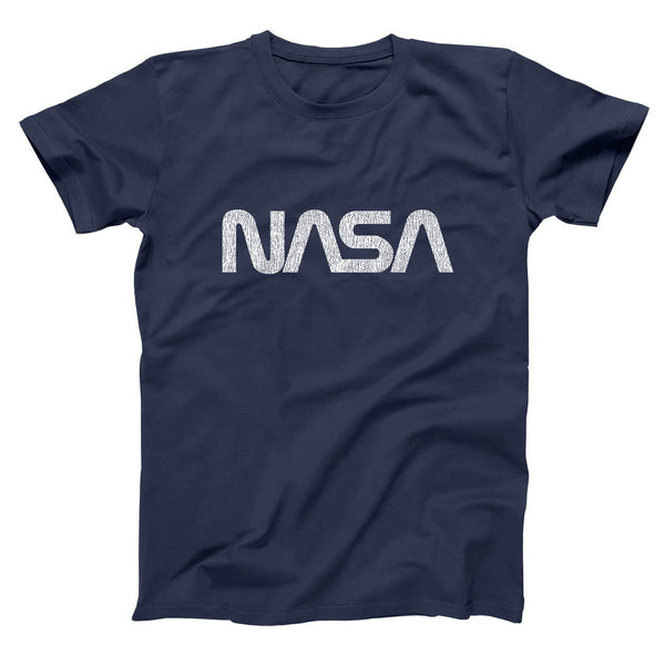 Retro Nasa Logo Men's T-Shirt - Donkey Tees