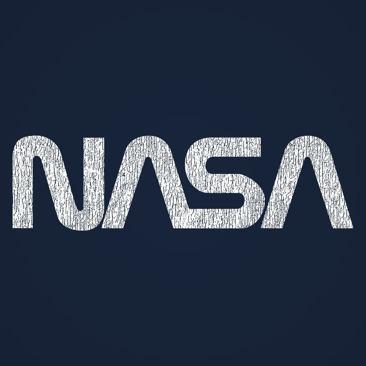 Retro Nasa Logo - DonkeyTees