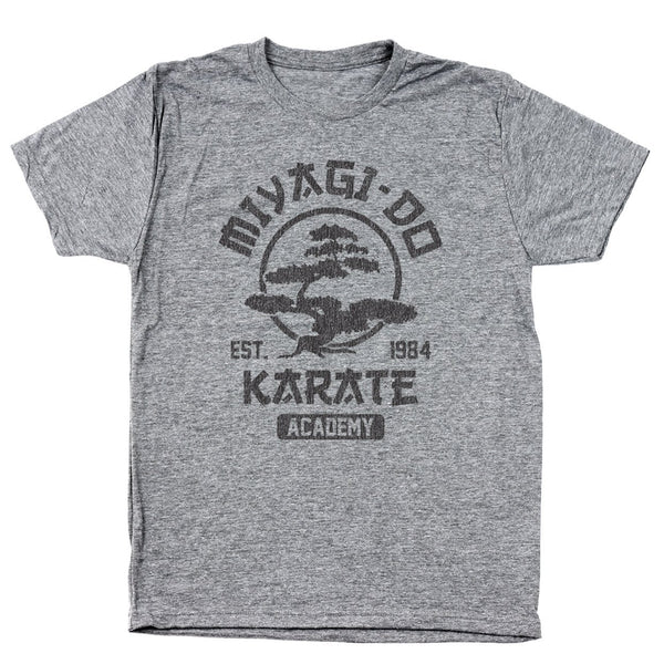 Miyagi Do Karate Academy Men's Tri-Blend T-Shirt - Donkey Tees