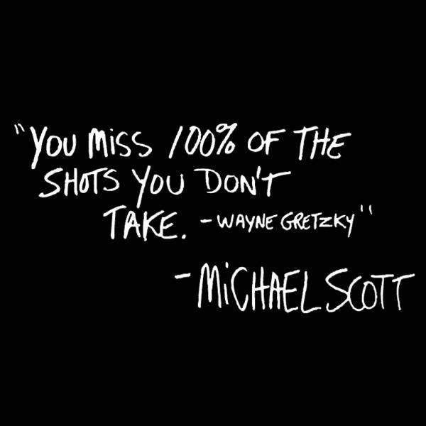 100% Of The Shots You Don't Take - DonkeyTees