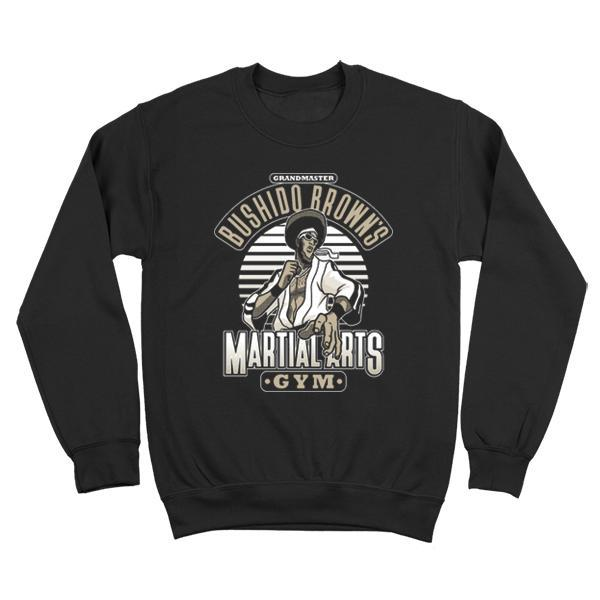 The Grandmaster Browns Martial Arts Gym Crewneck Sweatshirt