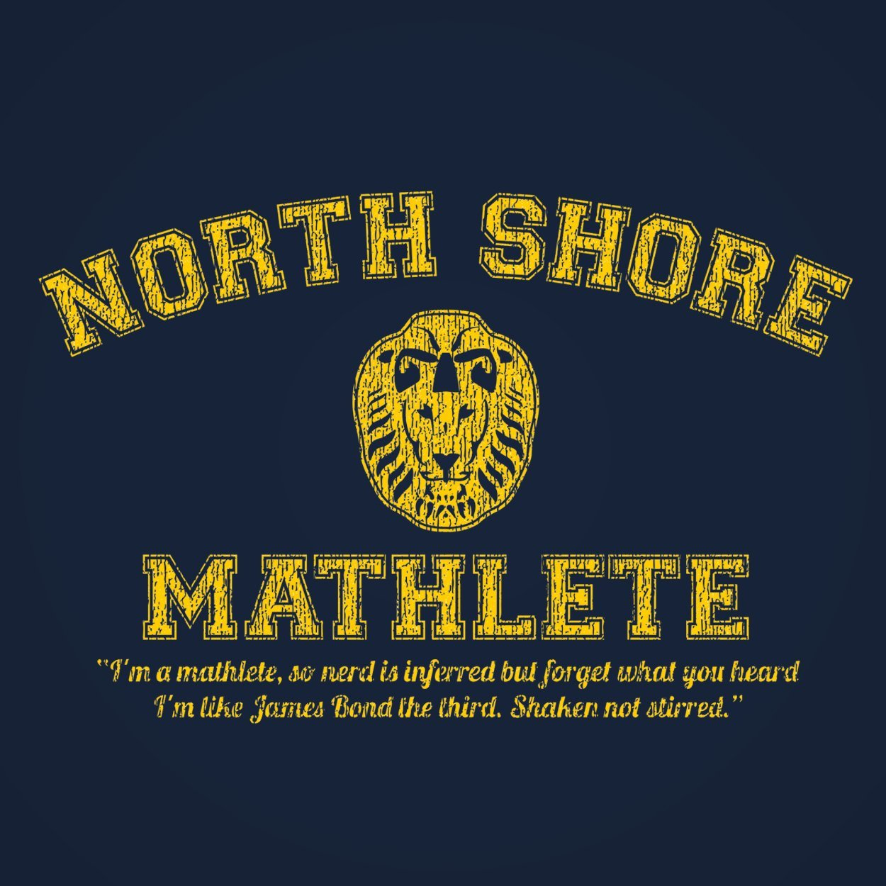 North Shore Mathlete - DonkeyTees