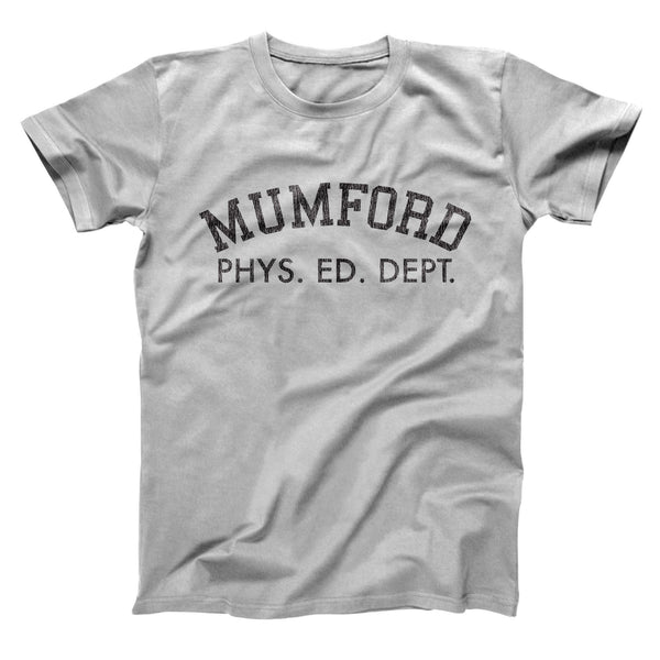 Mumford Phys Ed Dept Men's T-Shirt - Donkey Tees