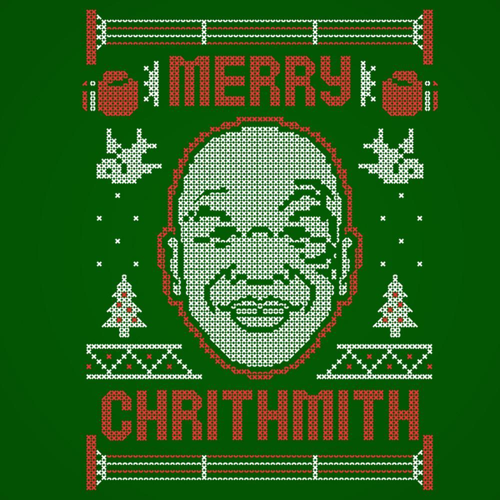 Merry Chrithmith Tyson Christmas Xmas - DonkeyTees