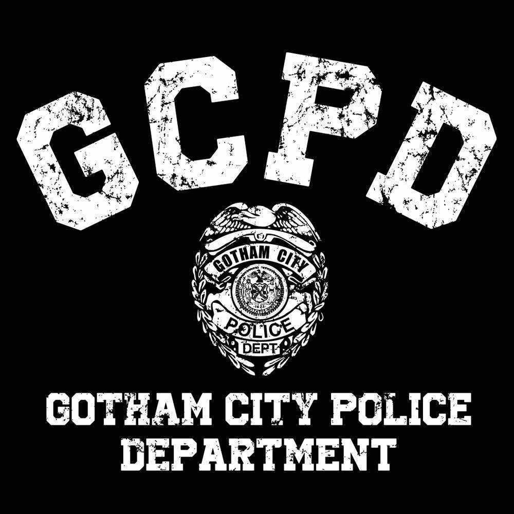 Gotham City Police Dept - DonkeyTees