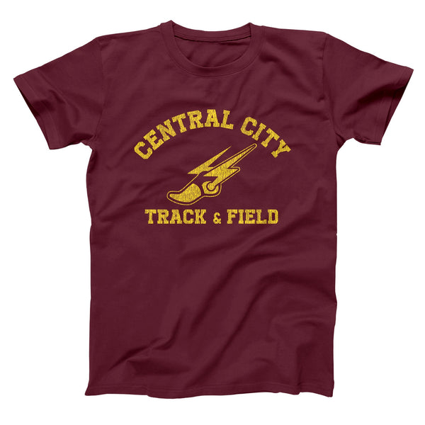 Central City Track Team Men's T-Shirt - Donkey Tees