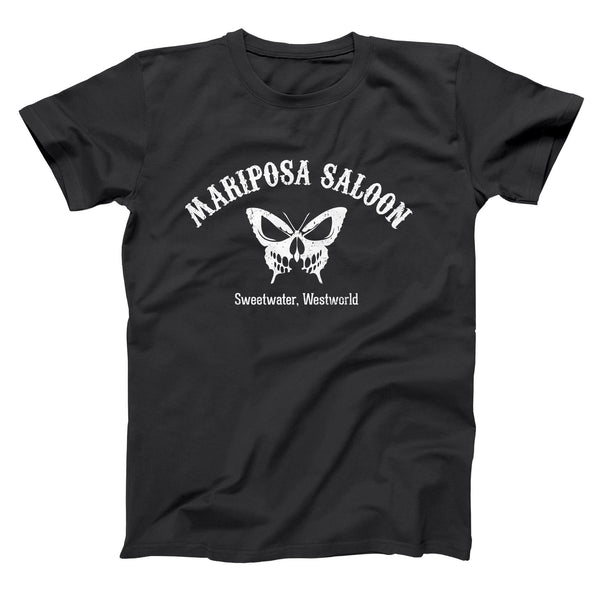 Mariposa Saloon And Bar Men's T-Shirt - Donkey Tees