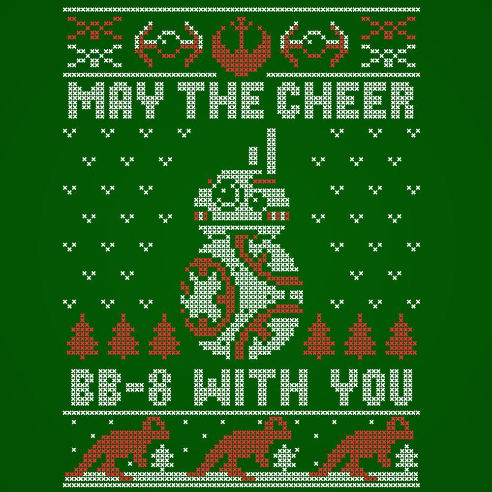 BB-8 Cheer Christmas - DonkeyTees