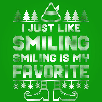 Smiling Is My Favorite - DonkeyTees