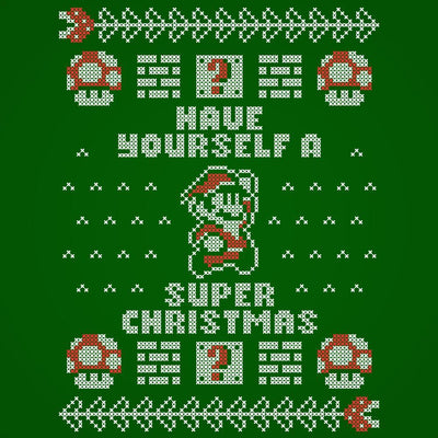 Super Merry Christmas Mario Bros - DonkeyTees