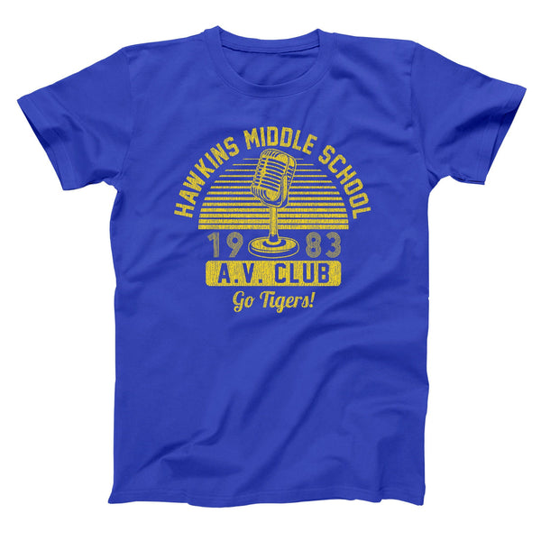 Hawkins Middle School Av Club Men's T-Shirt