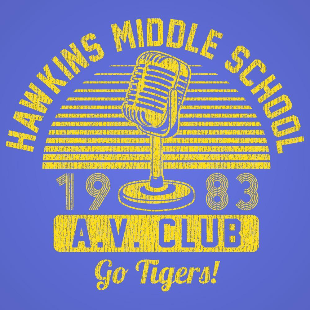 Hawkins Middle School Av Club - DonkeyTees
